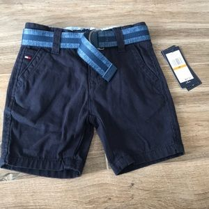 Tommy Hilfiger Navy boys dress shorts